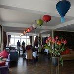 Restaurant and foyer