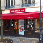 Hippopotamus in Paris