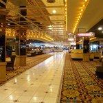 Long main hall