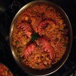lobster paella