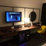 Tv, minibar, coffee and teamaker