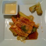 Salmon Lunch special at Bonsai Fusion restaurant