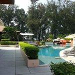Pool at the Bamboo Bar