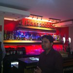 The bar and staff