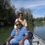 boating at the lake