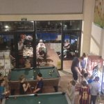 Pool tables and kids claw machines