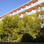 H Top Molinos Park- hotel behind Sunclub