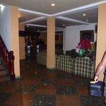Lobby Galway hotel