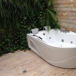 hot tub - suite 210