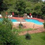 Paz y relax en la zona de piscina.