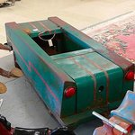 pedal car I have never seen before