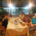 Dinner Served, in a summer night at Efes