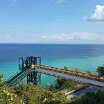 Мост на пляж