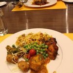 Indian and international cuisines