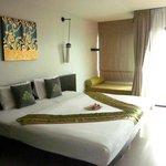 Riesiges Zimmer mit riesigem Bett - ein Traum!