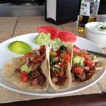 Delicious roadside tacos!