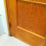 Mold on doors