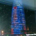Torre Agbar view