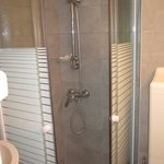 Regular size shower