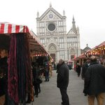 German Market in Piazza Santa Croce