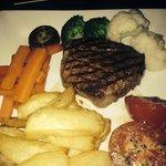 gorgeous fillet steak