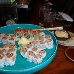 Haru Wasabi -Crunchy Spicy Salmon-Spicy Tuna Rolls