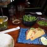 Edamame & Fish Tacos