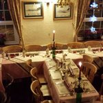 All set for the South Hams Flying Club Christmas Dinner