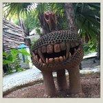 sculture maya