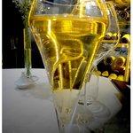 Apéritif Champagne et liqueur