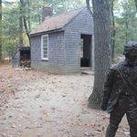 Recreated Thoreau's Cabin
