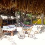 relaxing at Mawimbi
