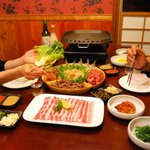 Korean BBQ grill at your table