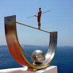 Oia sculpture.