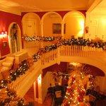 Historic Rosemont Manor's main lobby