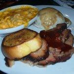 Dinner!!!!!!!!!!!! Loved the brisket.