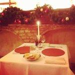 il nostro romantico tavolino =)