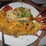 Lobster Thermidor $39 on 10/2013