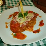 Chicken parmesan; Q 120