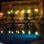 Jamaica night dinner by the pool
