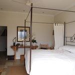 "Room #1 aka the ""honeymoon suite"""