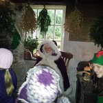 Magic is in the air at  Heligan with Father Christmas visiting for the first time. x