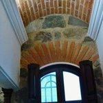 La Merced bano ceiling.
