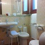 Bathroom in old room, not refurbished