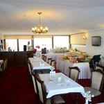 Ресторан отеля где завтракают
