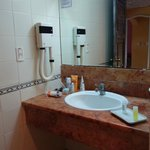 Standart room bathroom