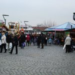 Xmas market on the harbour