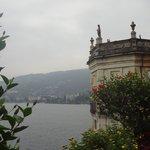 view of Lake Maggiore from Palazzo Borromeo garden