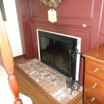 private fireplace