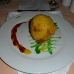 the fried ice cream in the asian restaurant